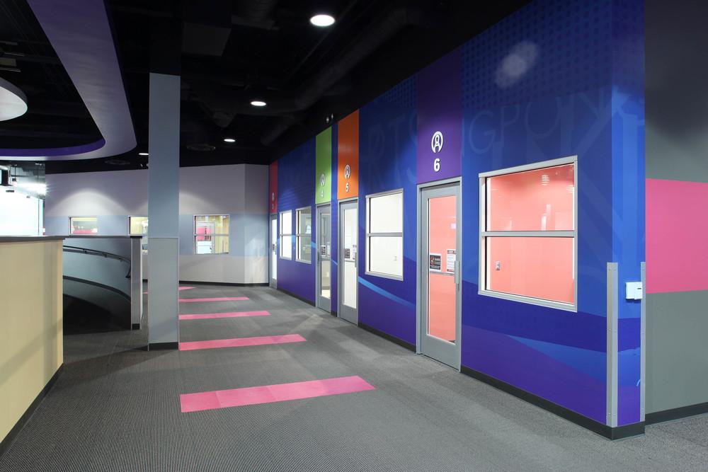 Round1 Bowling & Amusement Hallway