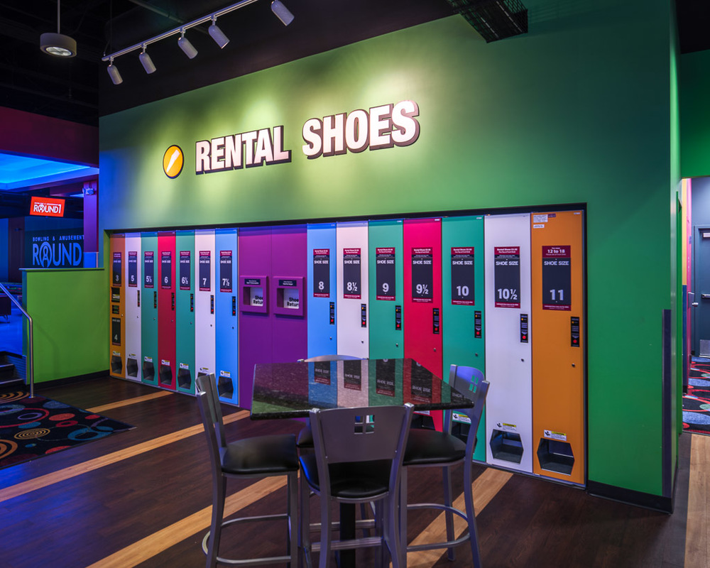 Round1 Bowling & Amusement Rental Shoes