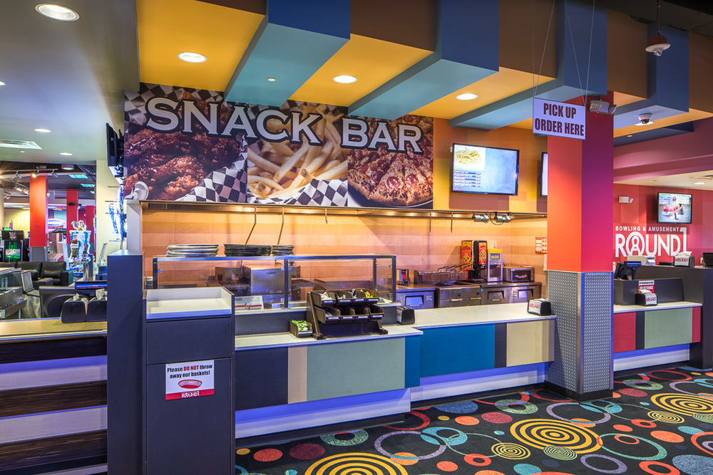 Round1 Bowling & Amusement Snack Bar