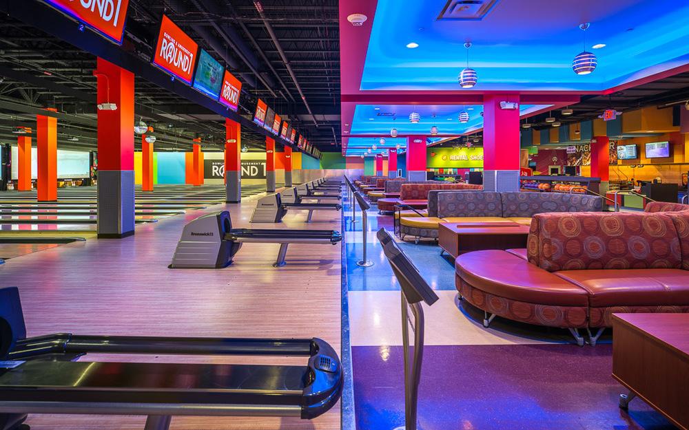 Round1 Bowling & Amusement Bowling Lane