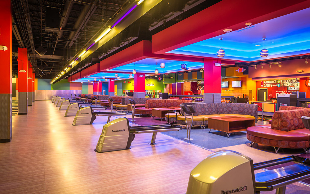 Round1 Bowling & Amusement Bowling Alley