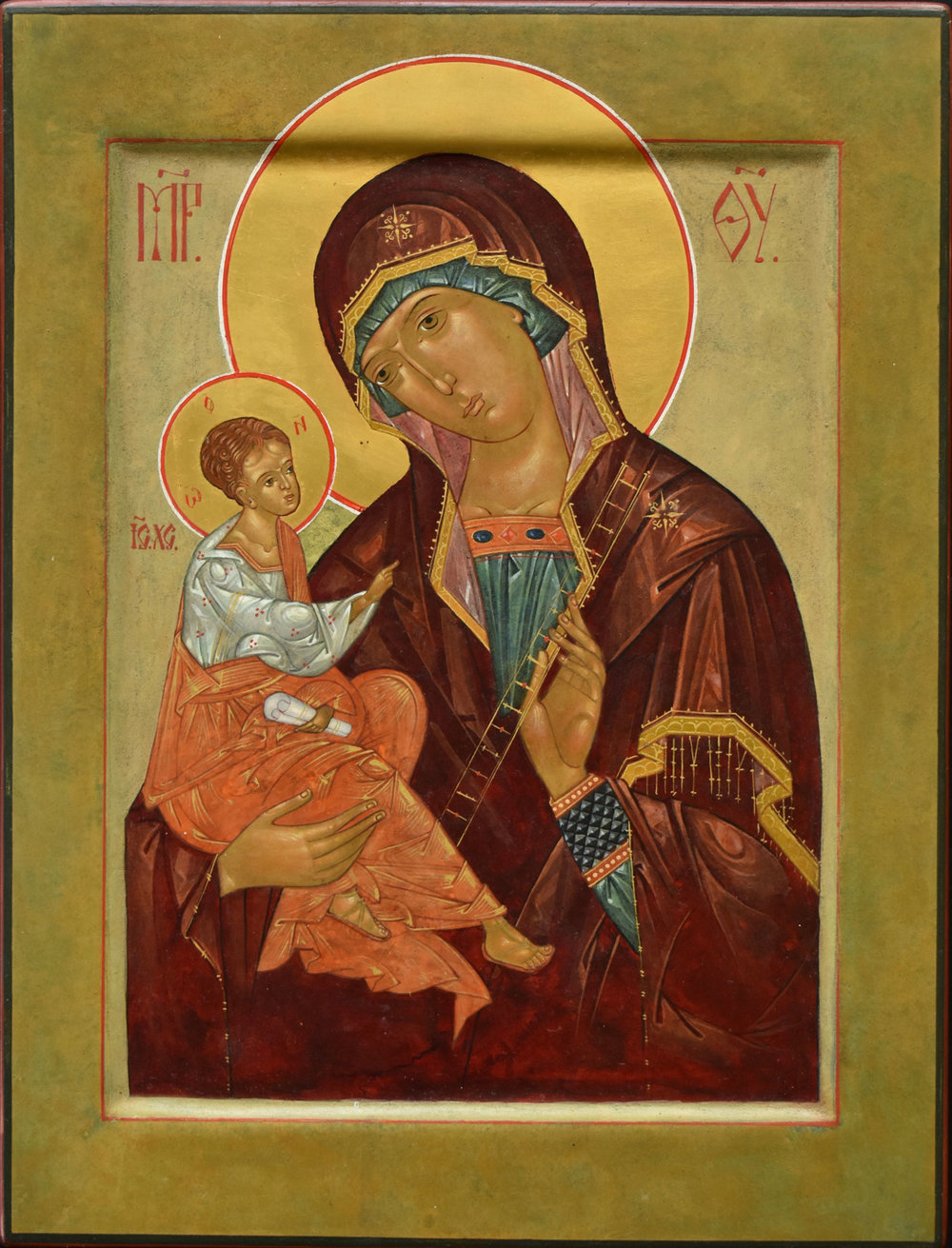 Theotokos of the Ladder (Anagogue)
