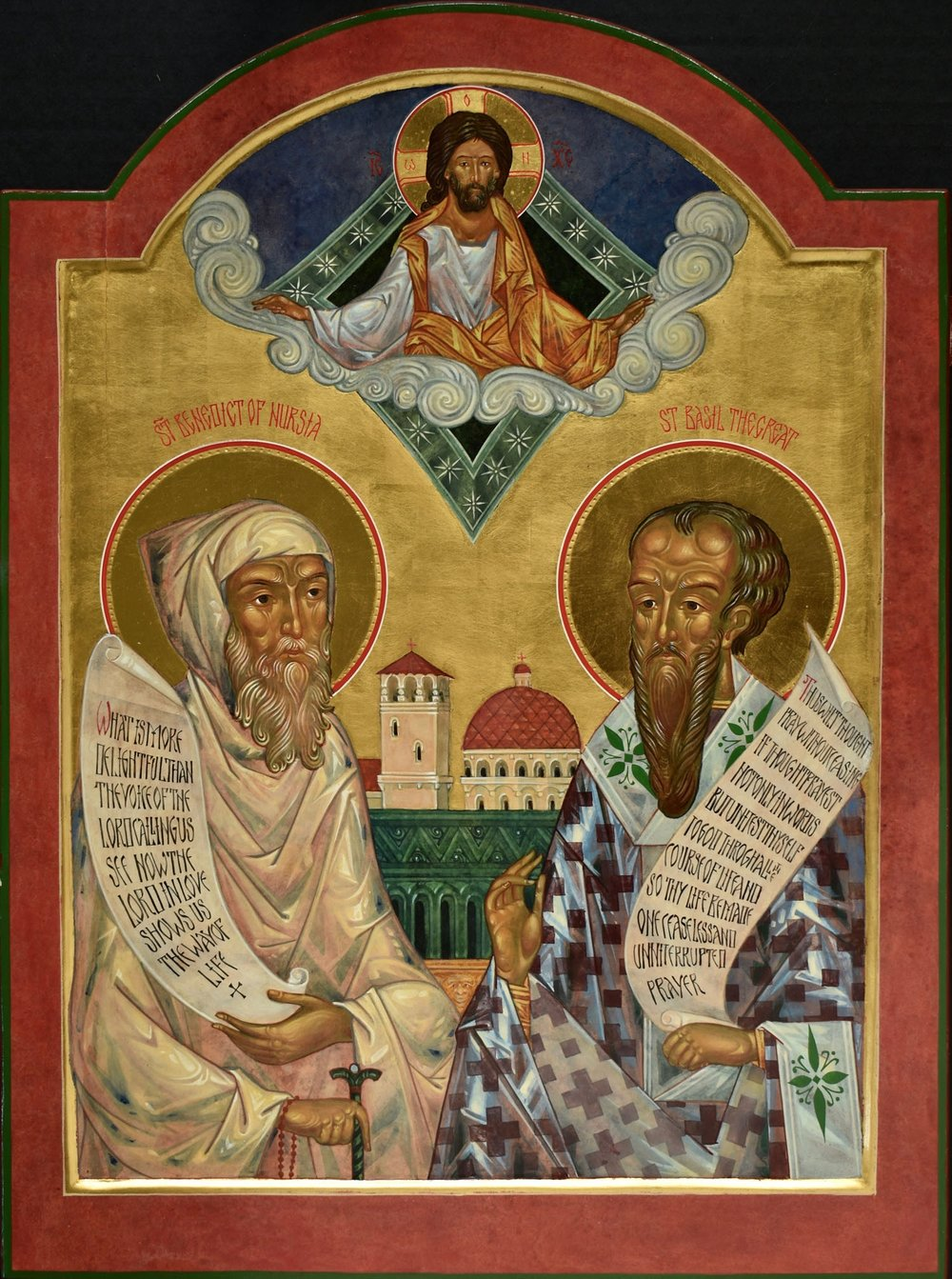 St Benedict of Nursa & St Basil the Theologian