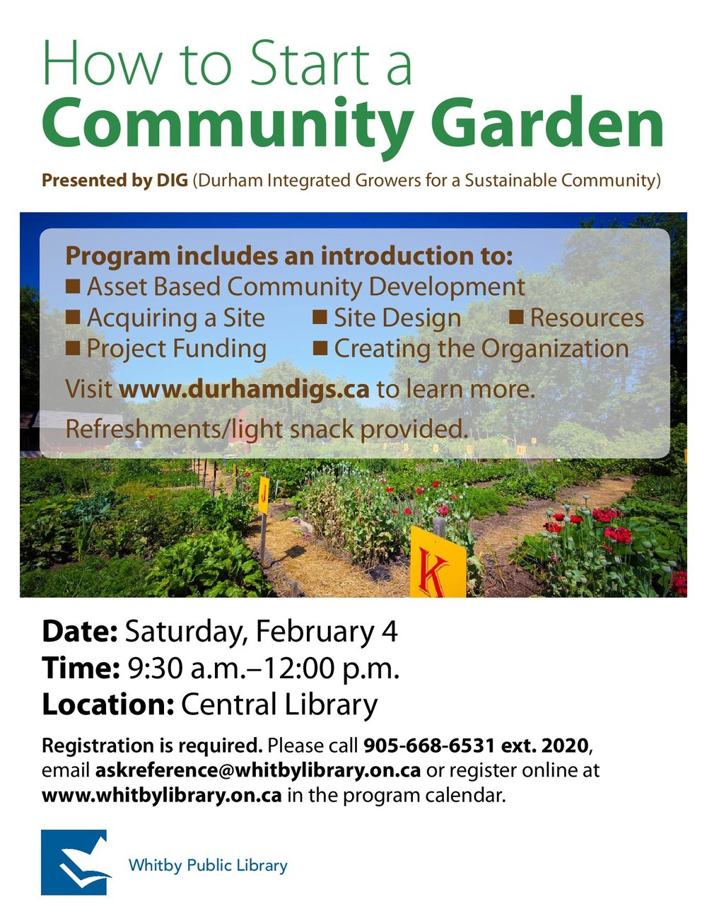 How To Start A Community Garden Durham Integrated Growers