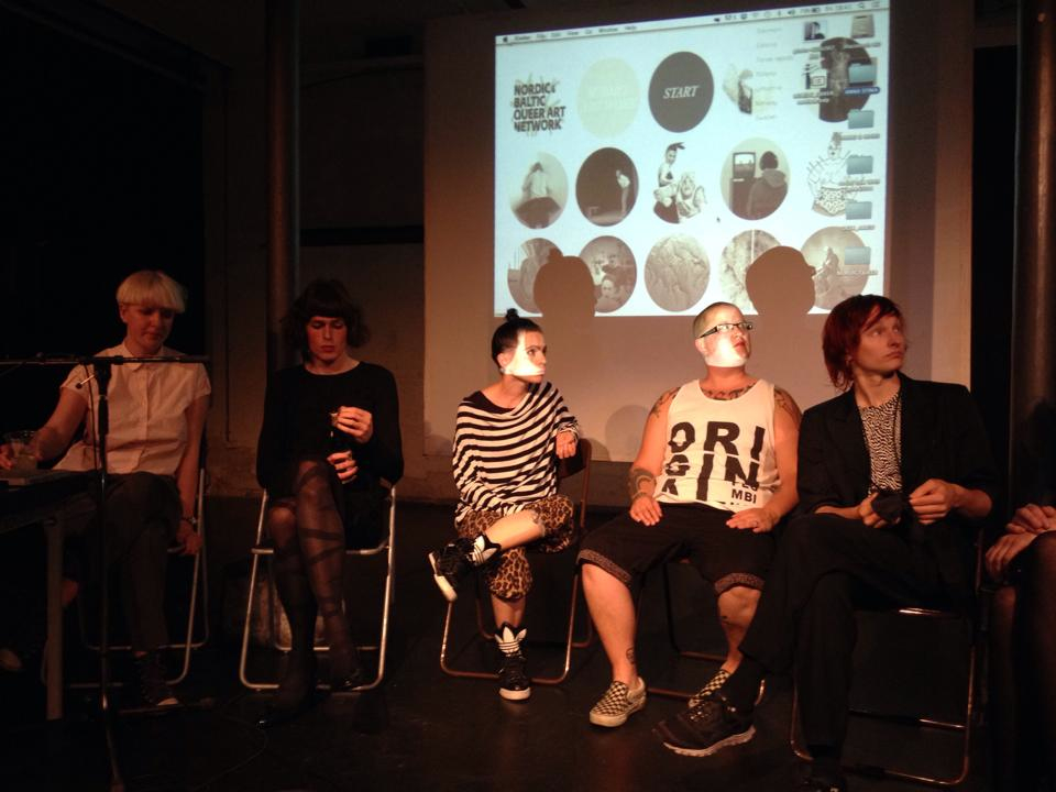 Nordic & Baltic Queer Art Network meeting in Copenhagen 2014