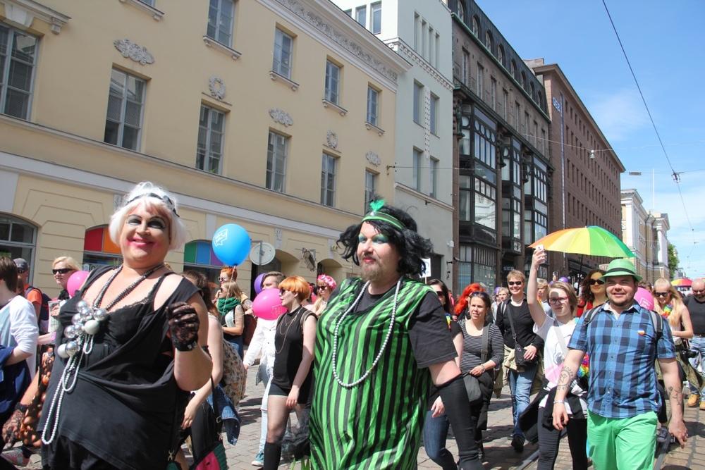 Hki Pride 2015 parade <3