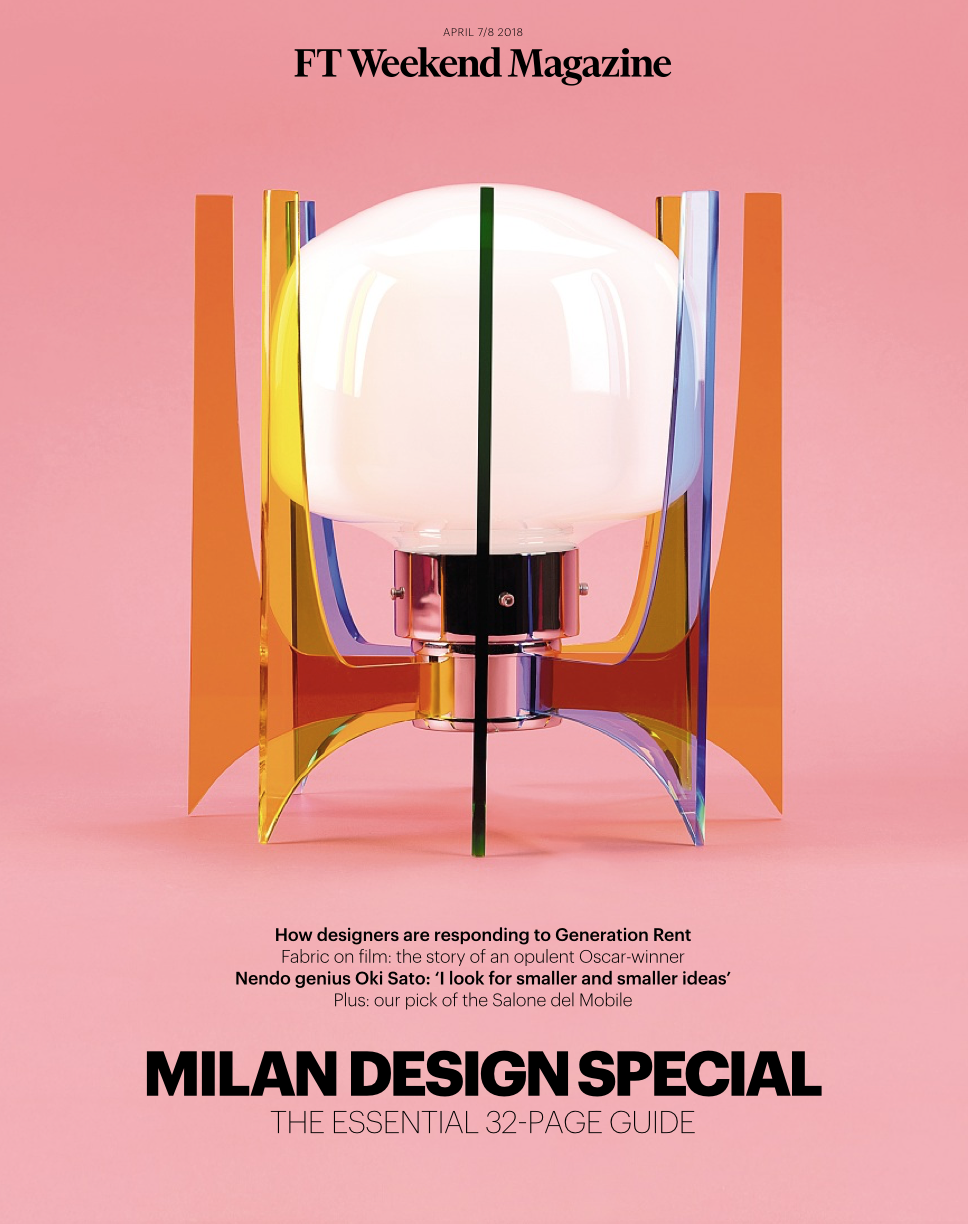 Financial Times Marvels of Milan's Salone del Mobile
