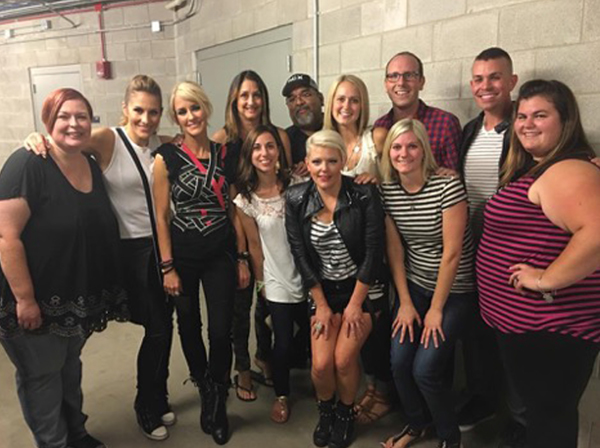 DCX Superfan Meetup backstage with The Chicks
