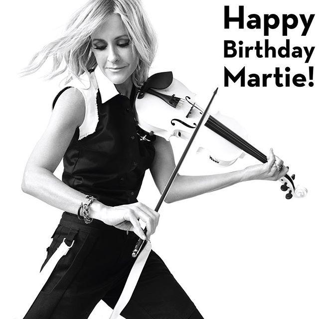 Happy birthday @martiemaguire!! 🎂🎉🎈