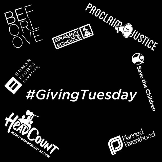 Looking for a way to participate in #GivingTuesday? The Dixie Chicks suggest looking into the following causes, learn more about each of these great organizations at the link in our bio.