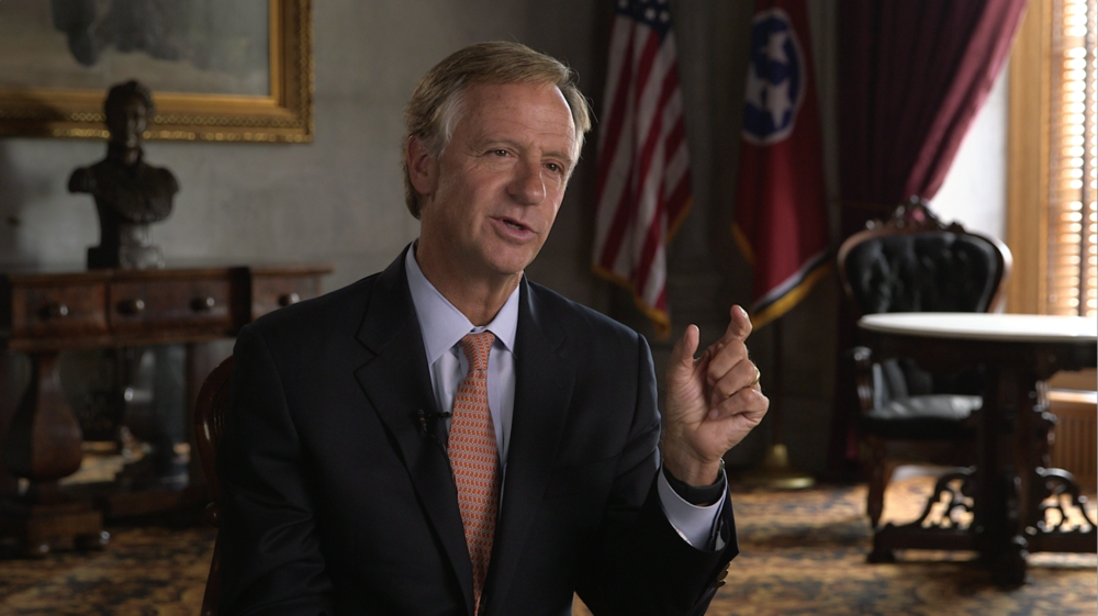 Governor Bill Haslam, Tennessee