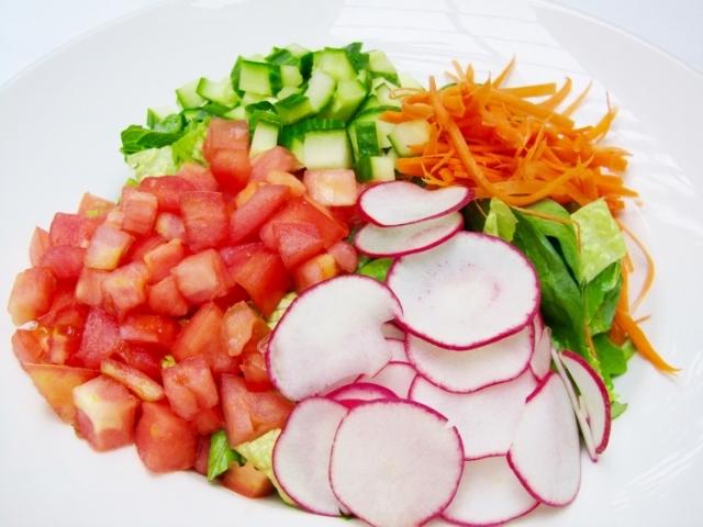 Soyka Salad at Soyka Restaurant in Miami, FL