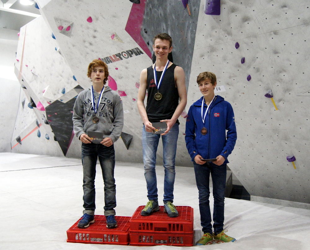 Albert Ilsaas Suthurst vant klassen Youth B Boys! [Foto: Thor-Henrik Kvandahl]