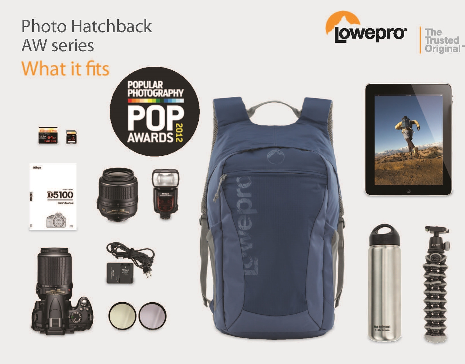 Lowepro Photo Hatchback Aw Kendra Hargens 16l Red