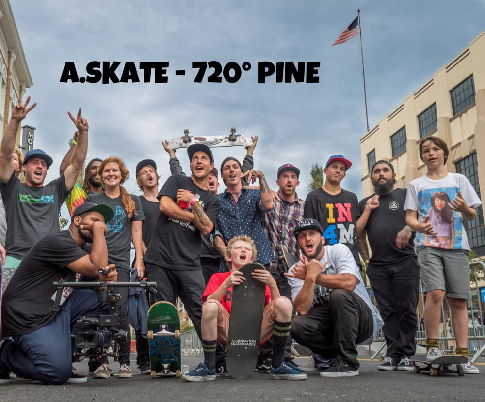 A.SKATE FOUNDATION / 720 PINE STREET FESTIVAL