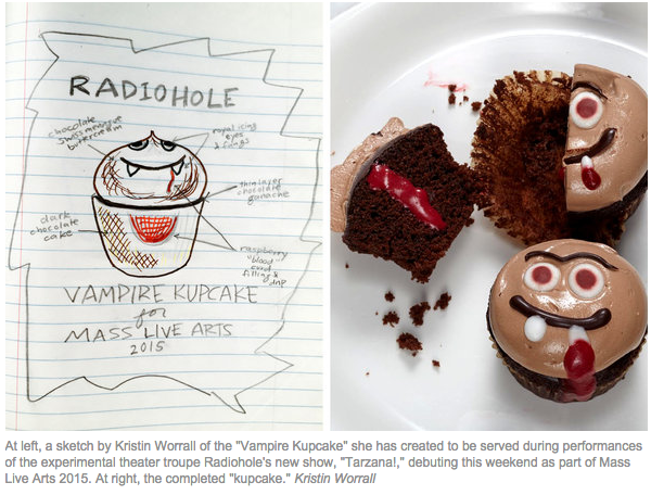 Vampire Kupcakes for Radiohole
