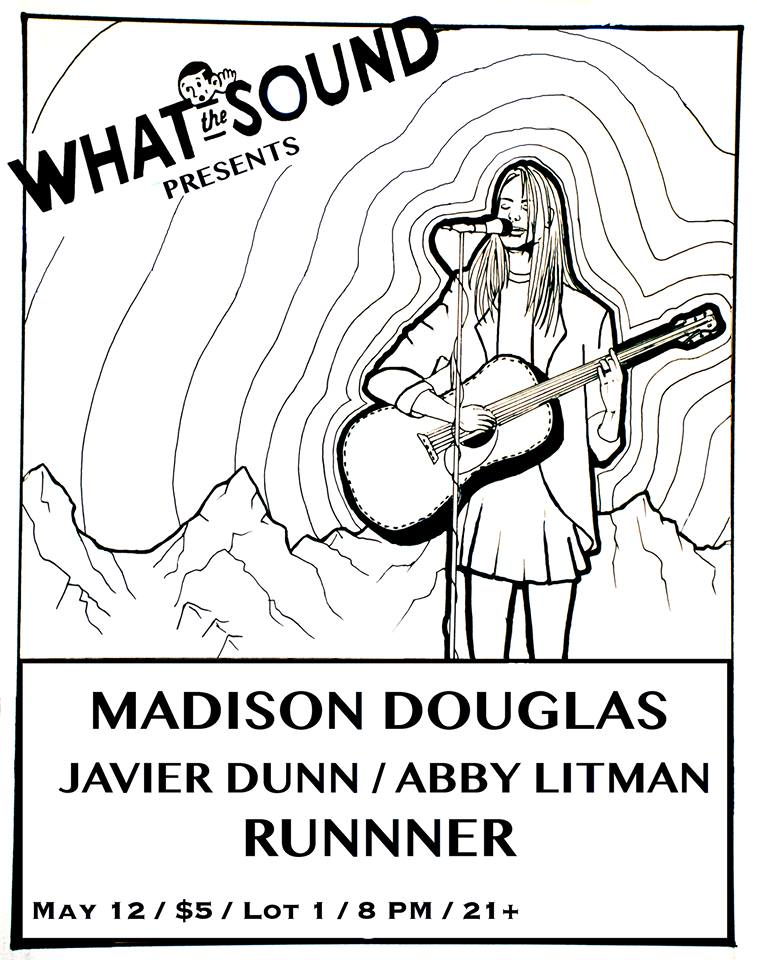 Madison Douglas / Javier Dunn / Abby Litman / Runnner  - Artwork by Mariana Rose Tix: $5 @ DoorLot 1 Cafe: 1533 Sunset Blvd, Los Angeles, CA 90026