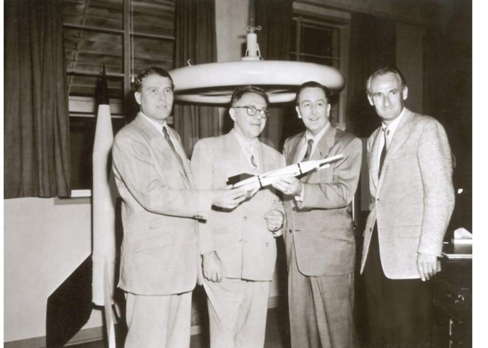 von Braun, Ley, Disney and Haber