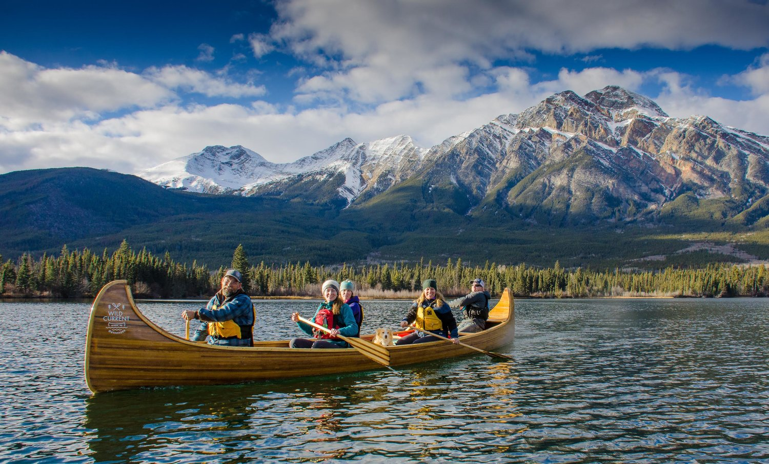 wild current outfitters canoe tours