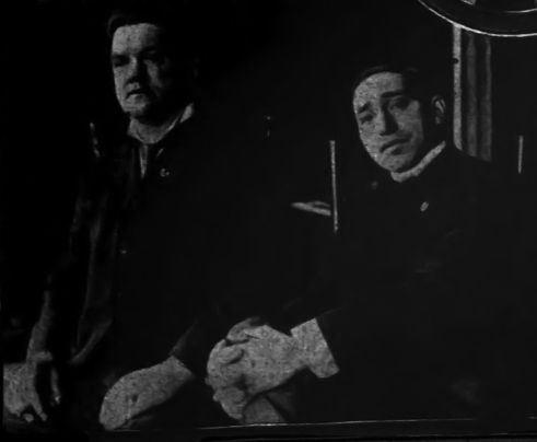 Five Points Gang leader Paul Kelly and John McManus (right)