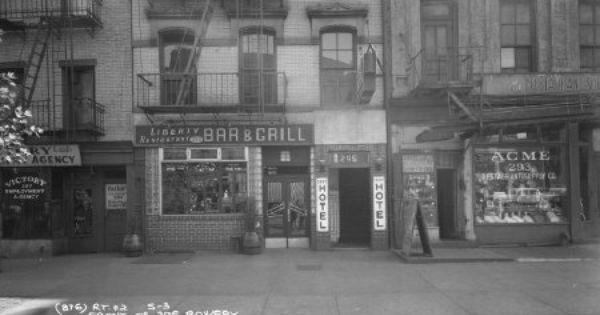 Liberty Hotel, Bowery