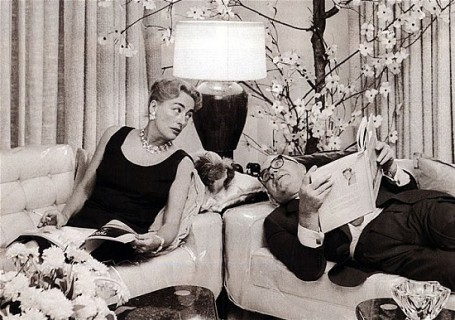 Crawford and Steele at their Fifth Avenue Penthouse
