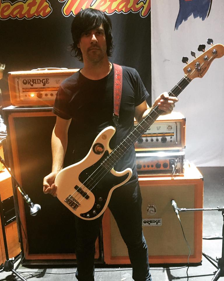 Matt McJunkins - Eagles of Death Metal, A Perfect Circle, Puscifer uses a Mastotron