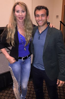 Producer Cheryl Marie Wheeler and Actor Matthew Ziff
