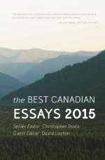 Best Canadian Essays 2015