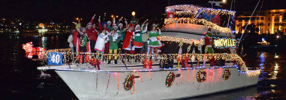 Photo of 'How the Grinch Stole Christmas' theme, photo credit to http://sdparadeoflights.org/.