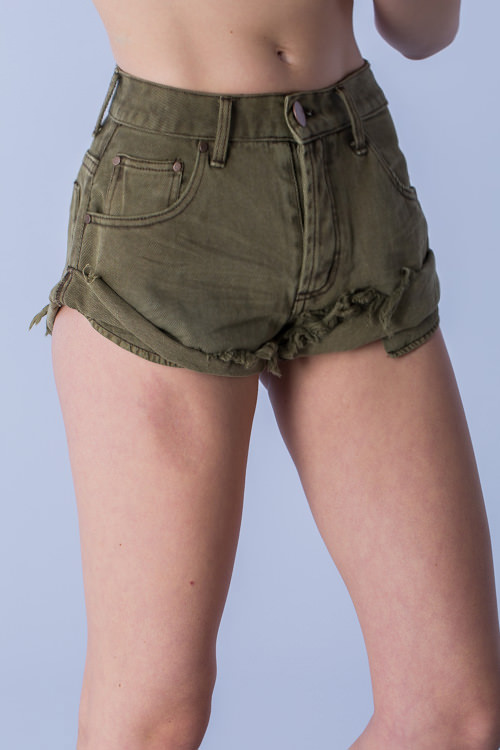 ad65ffd6ab Mustard Seed Roll Up Shorts — Augustaria & Co.