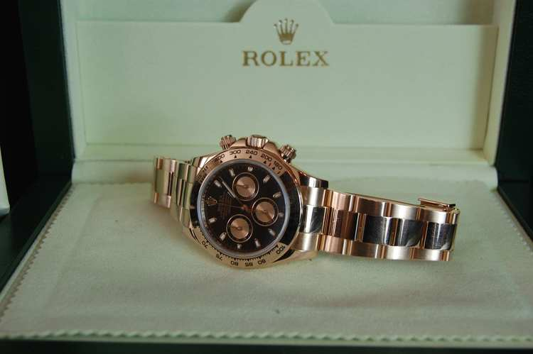 Rose Gold Rolex Daytona
