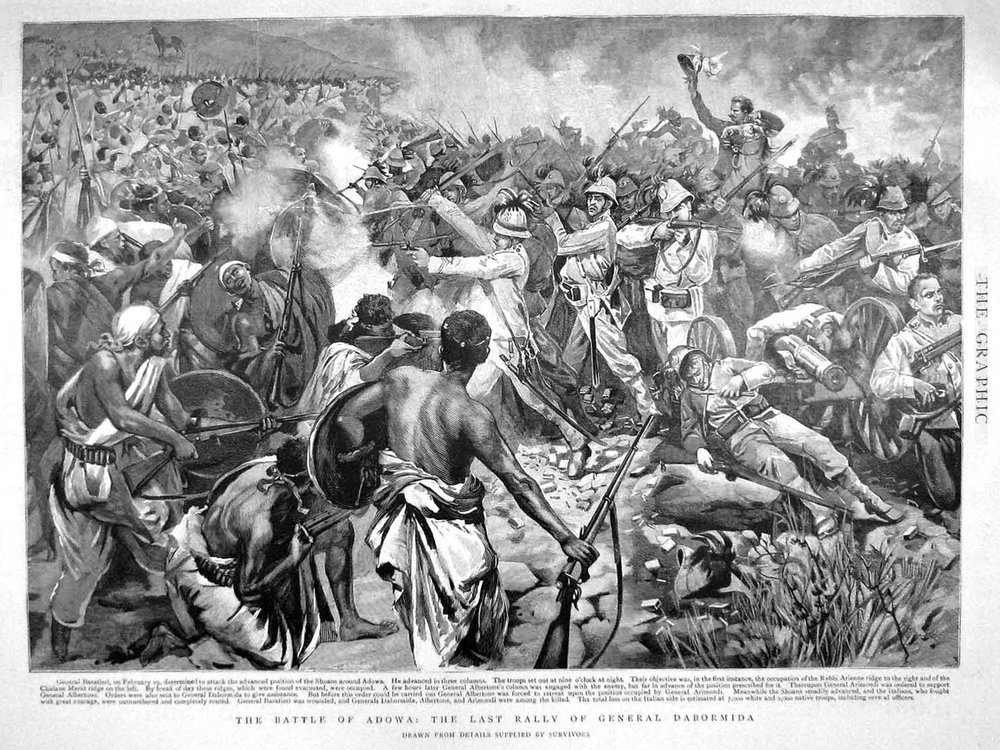 This Battle of Adwa was the nail in the coffin for Italian imperialism in East Africa, and its prestige never fully recovered from the blow