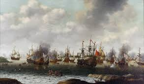 The Dutch total victory and rout of the depleted navy at the Medway was one of the most crushing experiences in English maritime history, and Charles would appreciate it if you never mentioned it in his presence!