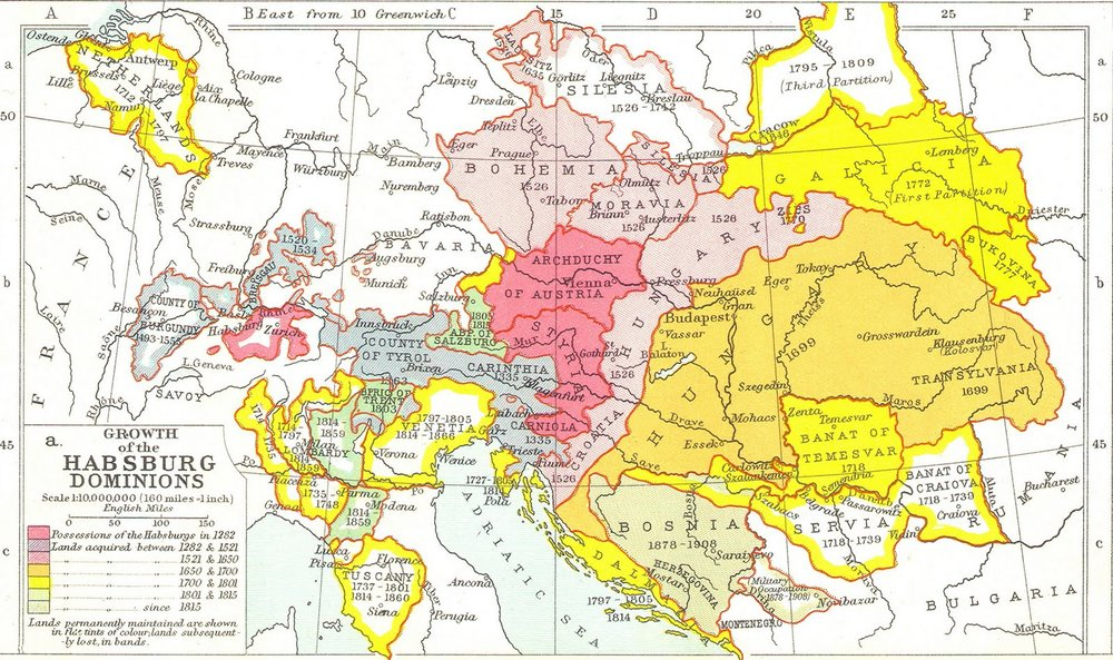 The Habsburgs had long since lost its expansive lustre, but still clung desperately to its old glories and new allies.