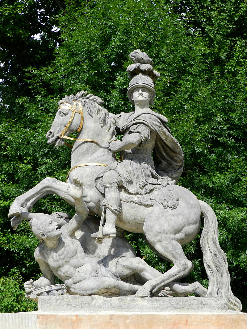 A monument to Sobieski in Warsaw.