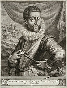 Don Antonio was one of many pretenders to the Portuguese throne, but he was the only one actively pressuring Paris and London for aid.