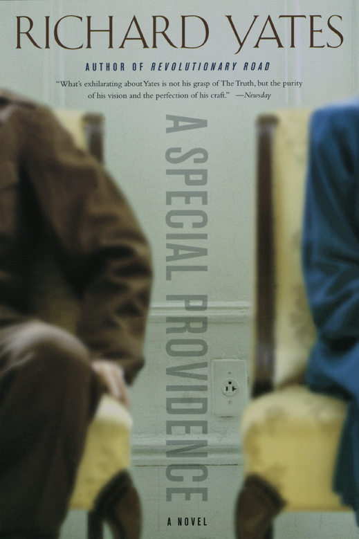 A Special Providence, a Novel by Richard Yates