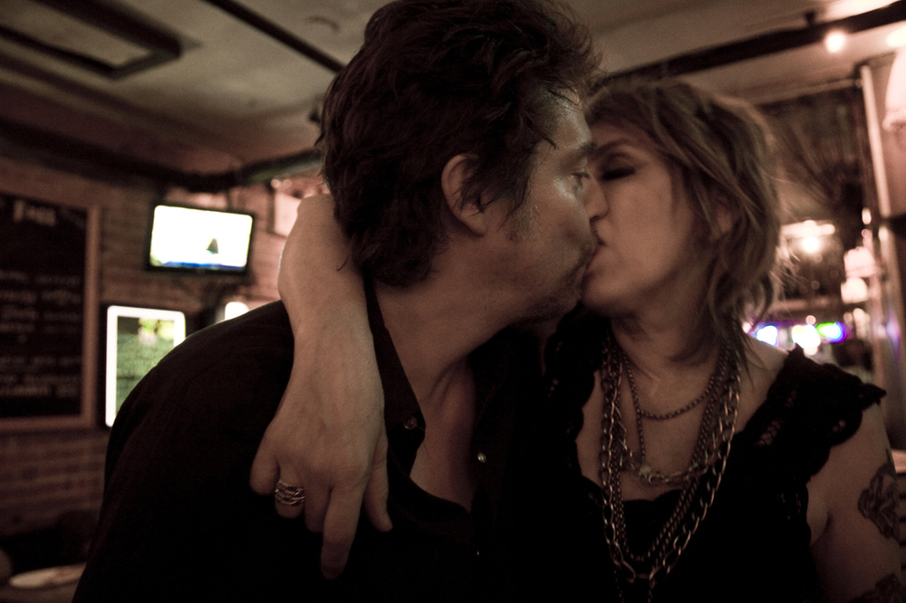 Lucinda Williams and Tom Overby