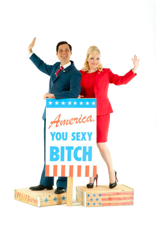 America You Sexy Bitch, A Love Letter to Freedom by Michael Ian Black and Meghan McCain