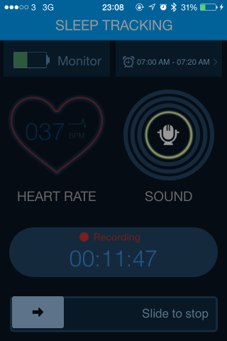 My Resting Heart Rate after 6 Weeks.