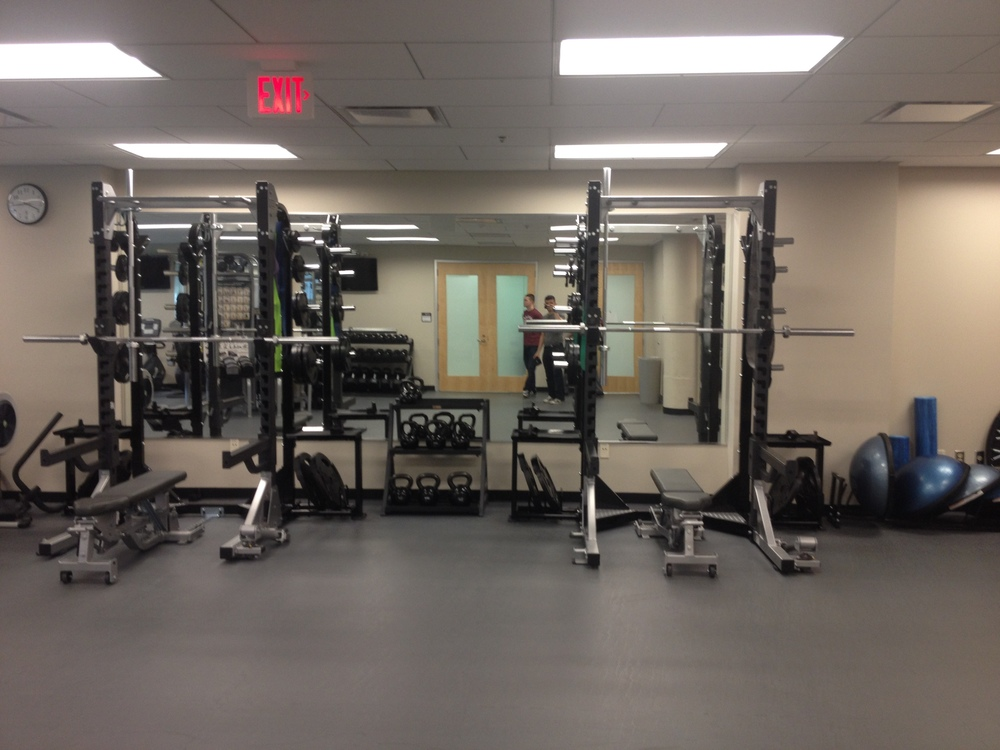 Shots of the Exercise Suite
