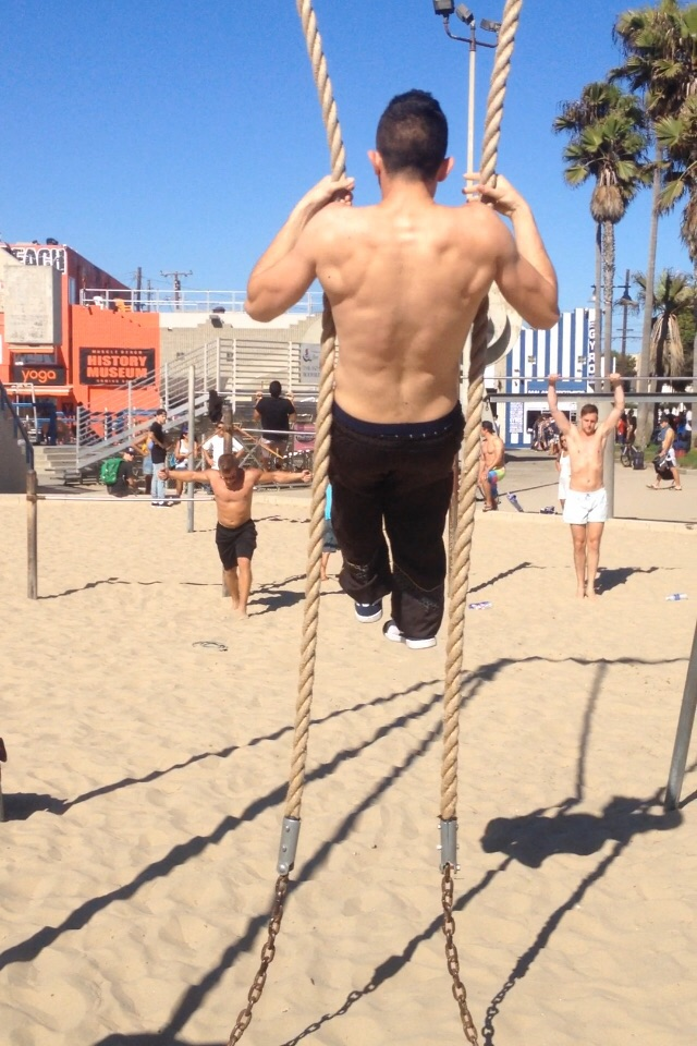 Muscle Beach, Baby!