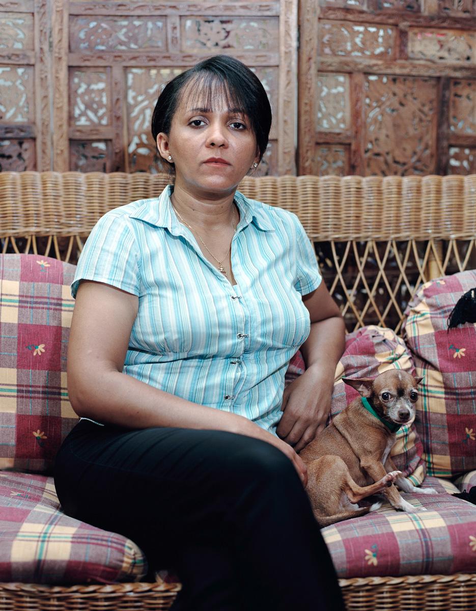 "Rossana Ileana Colon Perez, 2005 Gazcue, Santo Domingo, R.D."""