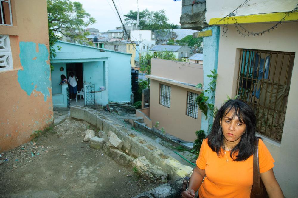 Madrina la Chofera, 2006. Villa Duarte, Santo Domingo, R.D.