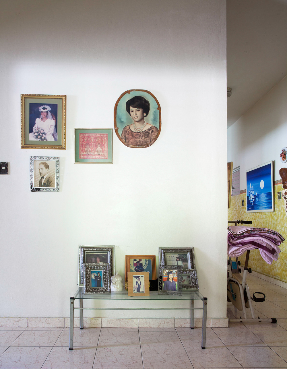 Tia Chea's Foyer, 2010. Gazcue, Santo Domingo, R.D.