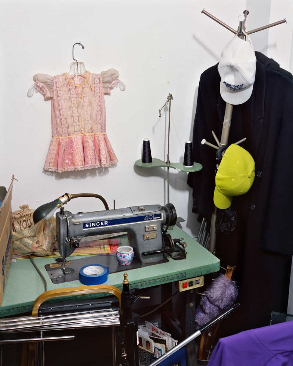 Sewing Room, 2014. Washington Heights, NYC, U.S.