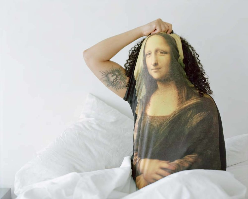 groana melendez, Untitled (Mona Lisa), 2015, Archival pigment print, 30 x 24 in. Courtesy of the artist.