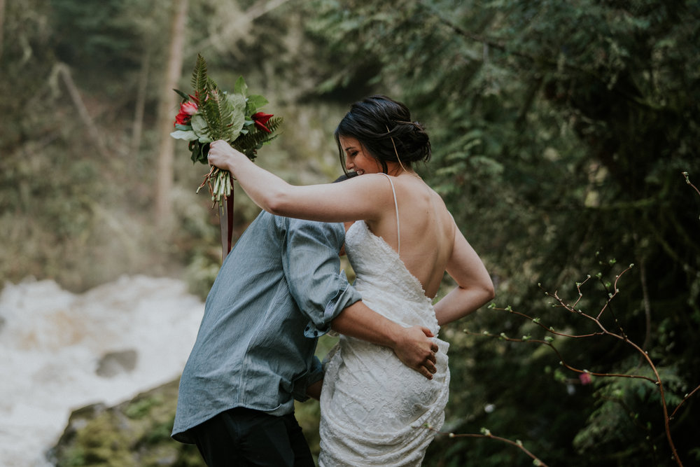boho wedding photography seattle