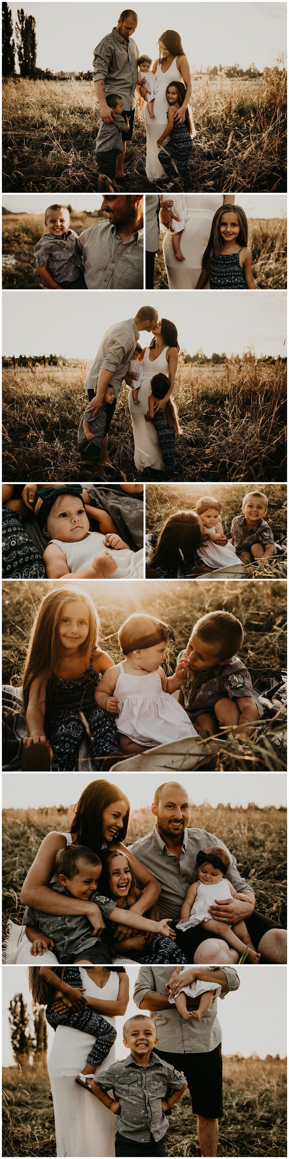 Golden Hour Seattle Family Session